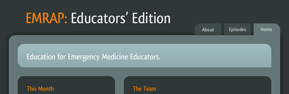 EMRAP: Educators' Edition